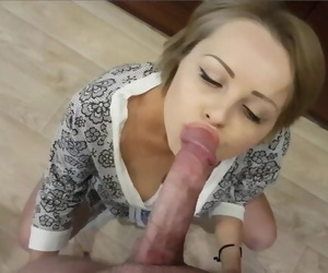 MAID GETS FUCKED IN KITCHEN..