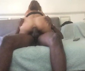 First Ass fucking with a Big..
