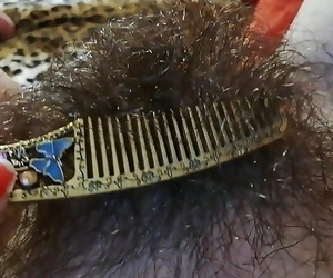 Wooly pubic hair fetish..
