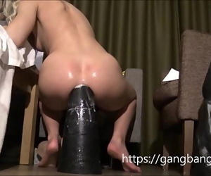 Sexy Blond Demolishes the..